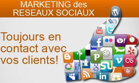 Communiquez avec vos clients sur les réseaux sociaux