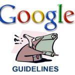 google guideline SEO