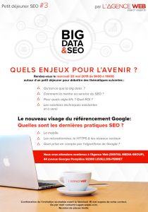 invitation petit dejeuner big data seo