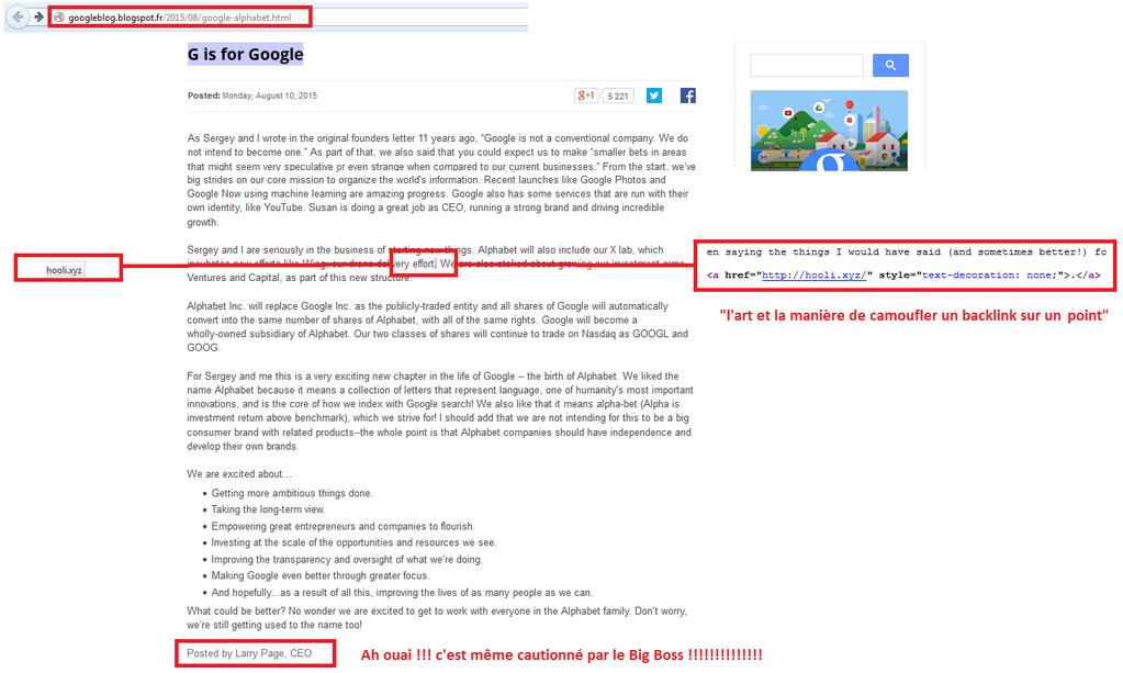 back link caché google