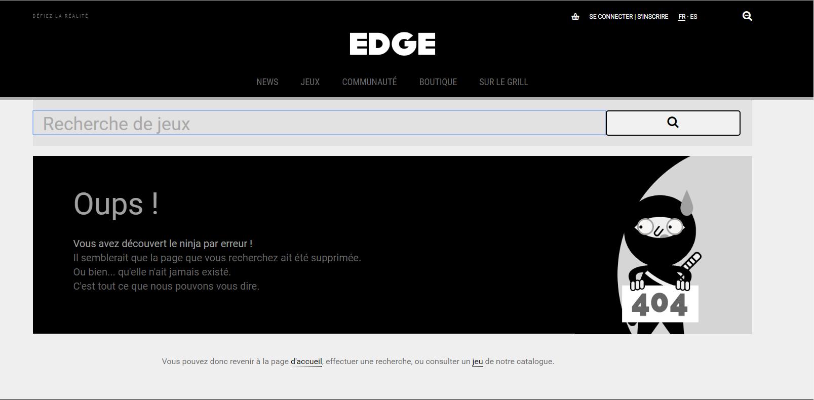 SEO page 404 edge