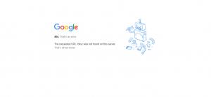 SEO google page 404