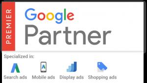 agence web certifiee google aprtner adwords premier