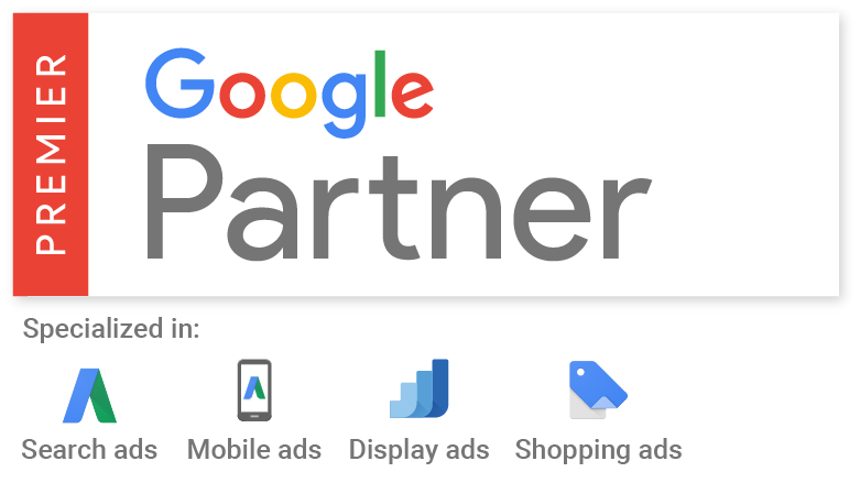 L' agence Web certifiée Google Partner Premier