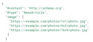 exemple balisage schema.org