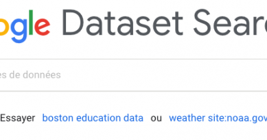 Google lance Dataset Search le moteur Open data