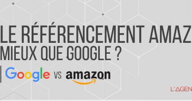 Infographie | Le référencement Amazon, mieux que Google ?