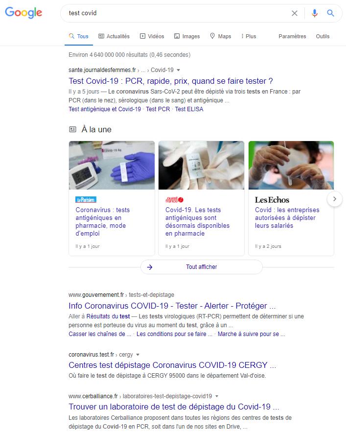 test-covid-google