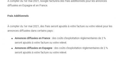 Nouvelle Taxe Google Ads, Nos experts vous guident
